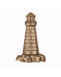 Museum Gold Lighthouse Cabinet Knob