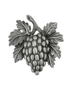 Antique Pewter Grapevine Cabinet Knob