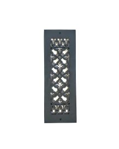 """14"""" x 4"""" Grille  with Screw Holes"""