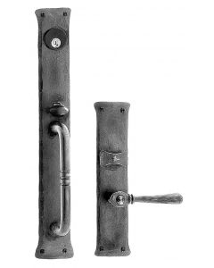 Greenwich Handle and Lever Mortise Lock Set