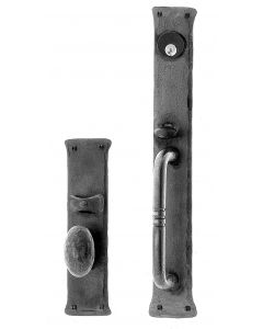 Greenwich Handle and Knob Mortise Lock Set