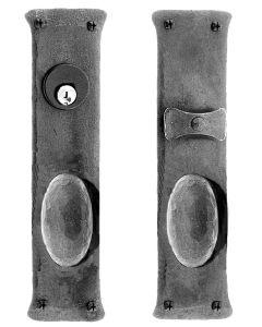 Greenwich Double Knob Mortise Lock Set