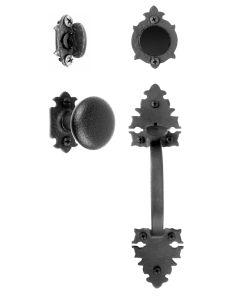 Large Double Warwick Handle & Knob Dummy Set