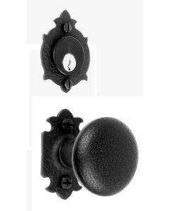 Warwick Double Knob Mortise Lock Set
